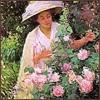 леди с цветами