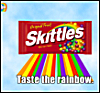 _debbiechan_: SKITTLES TASTE THE RAINBOW