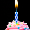 FanSee: Cupcake w candle