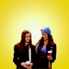 robinpoppins: GG: yellow Lorelai & Rory