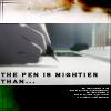 [dn] pen stronger than sword