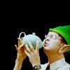 Bob Bryar + Slippers= sex: elf dwight → teapot