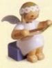 Erzgebirge angel with book