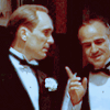 * Don Vito Corleone + Tom Hagen