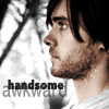 Under The Rose Graphics: JL - handsome awkward