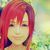 « kairi » a kiss that sits upon her lips