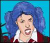 Queen of the Funderworld: Robyn cartoon