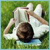 head in the books