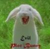 evil bunny, monty python, fangs