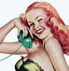 Phone & Pin Up Girl