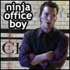 Nobody said it was easy: work ninja officeboy
