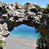 Arch Rock Mack Island
