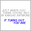 I'm a balancing force of maturity... Or not  ;): kansas