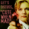 not, alas, hilary tamar: idiocy--Janet discussing 'cute when mad'