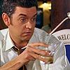 Detective Carlton Lassiter: drunk