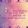 Robyn Goodfellow: consistancy