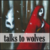 talks to wolves