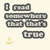 Clara: [flourish quote] It's true