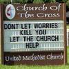 Church can help