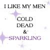 I like my men...