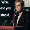 MASHFanficChick: Wow are you stupid (CJ Cregg)
