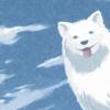 riku: blue smile