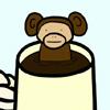 sparta5: Monkey coffee