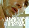 Supernatural-Dean Shower Curtain