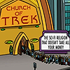 All the letters I can write: Church of Trek