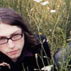 Mikey Shoes in a meadow. by Izy