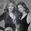 Dana & Marcia - EW B&W