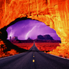 Stock: Road to storm