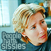 "Love Actually - Karen - ""sissies"""