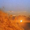 Wicker Man sunset