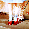 oz, glittery, shoes