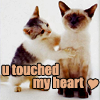 u touched my heart