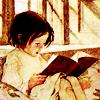 The Mistlethrush: Books - Little Girl Reading