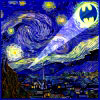 -- Starry Night Bat-signal