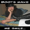Boots Smile