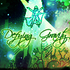 defying gravity - green