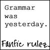 Scribbler: fanfic grammar