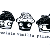random / pirate cupcakes