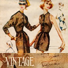 All the letters I can write: vintage fashion