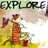 gaelbrady: Calvin & Hobbes Explore