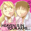 Heaven is in your arms