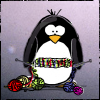 a very caring potato: knitting penguin