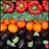 peppers oranges eggplant