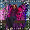 Fae kitty of Roses and Columbine, on Secondlife: Swing