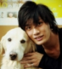 kazuki and dog