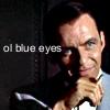 Mrs. Sinatra: ol blue eyes